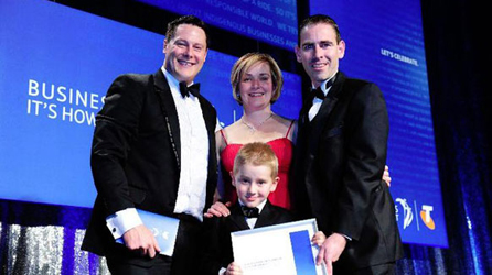 From the Telstra Business Awards to iPad apps, how the Easy Weddings team are leading the pack