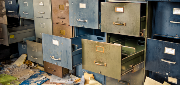 Clean your filing cabinet for EOFY