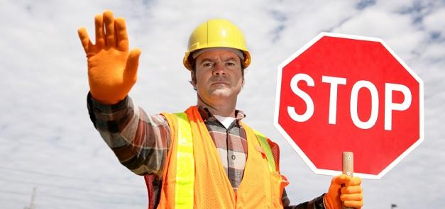 Stop - warning