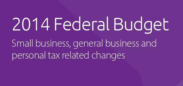 2014 Federal Budget for businesses