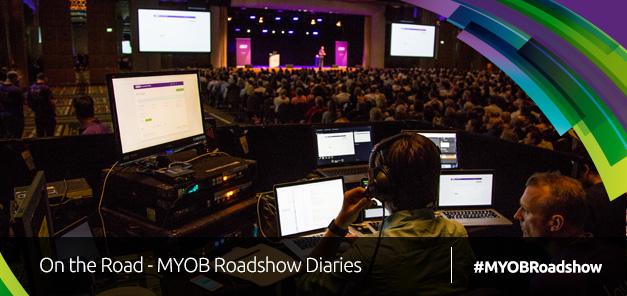 On the Road; MYOB Roadshow Diaries Week 1
