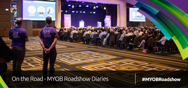 On the Road; MYOB Roadshow Diaries Week 3