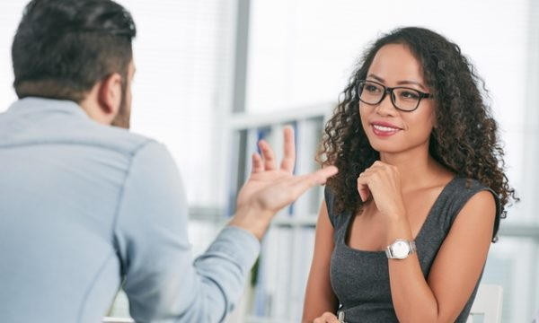 Interviewing potential employees