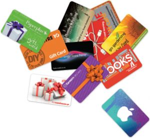 Gift cards from Gift Station