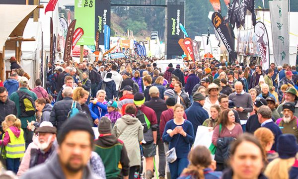 Crowd at Fieldays 2019.