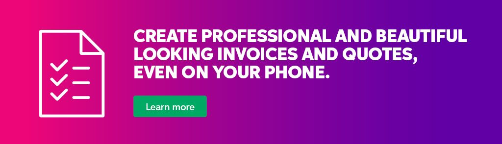 Get FREE customisable invoice templates with MYOB.