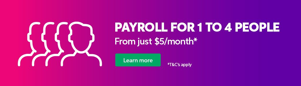 Payroll for 1 to 4 employees.