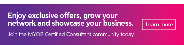 Become an MYOB Certified Consultant