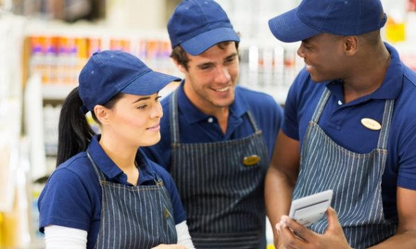 Staff uniforms are integral to many small business brands
