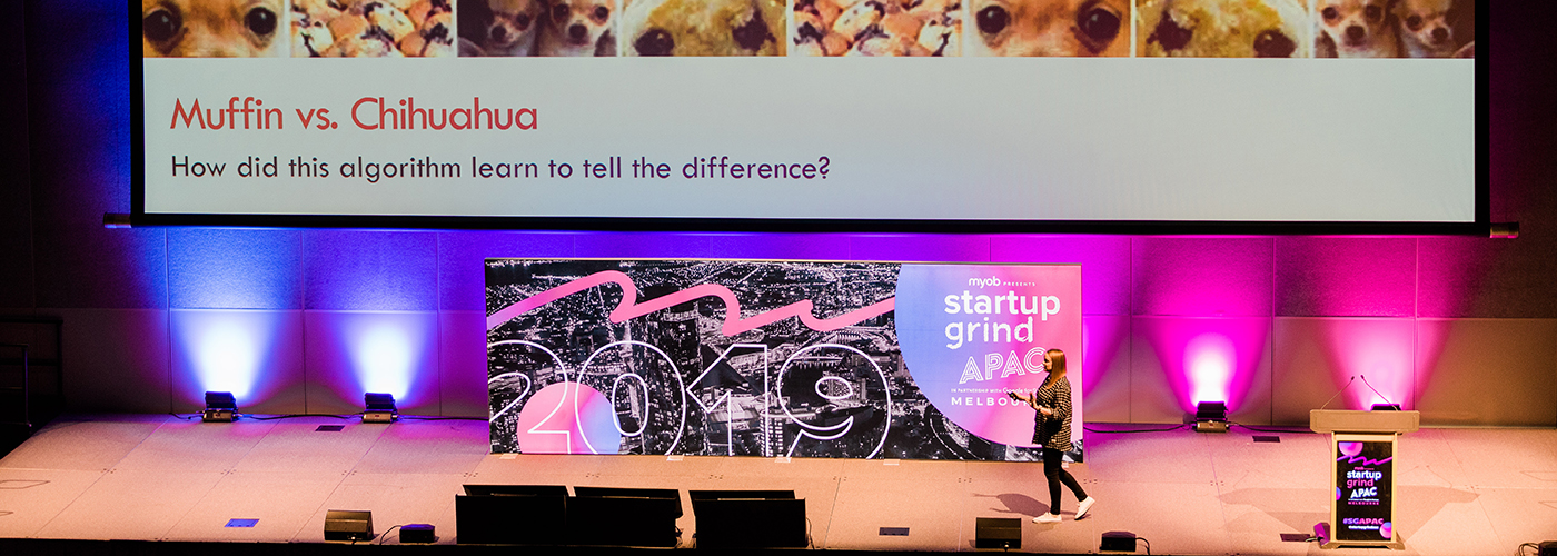 Startup Grind APAC conference 2019.