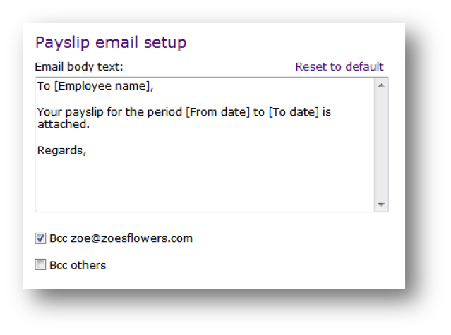 Emailing Payslips U2013 Now Just A Click Away!  Online Payslip Template