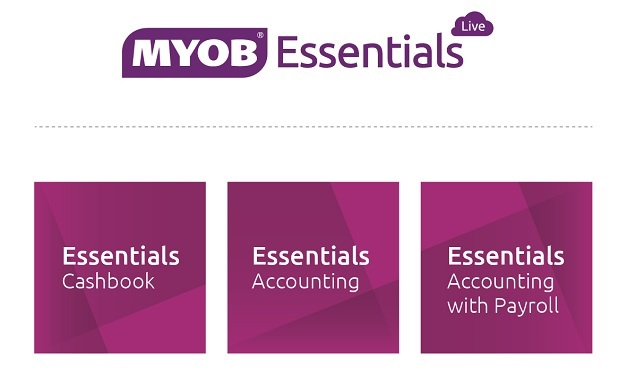 MYOB Essentials 2014
