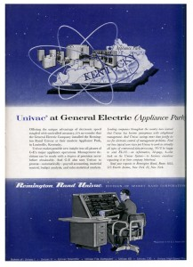 Magazine ad for Univac